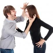 남편의 폭력 때문에 이혼을 결심한 아내...